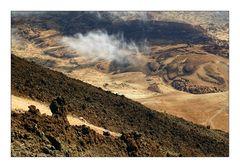 El Teide: Lava