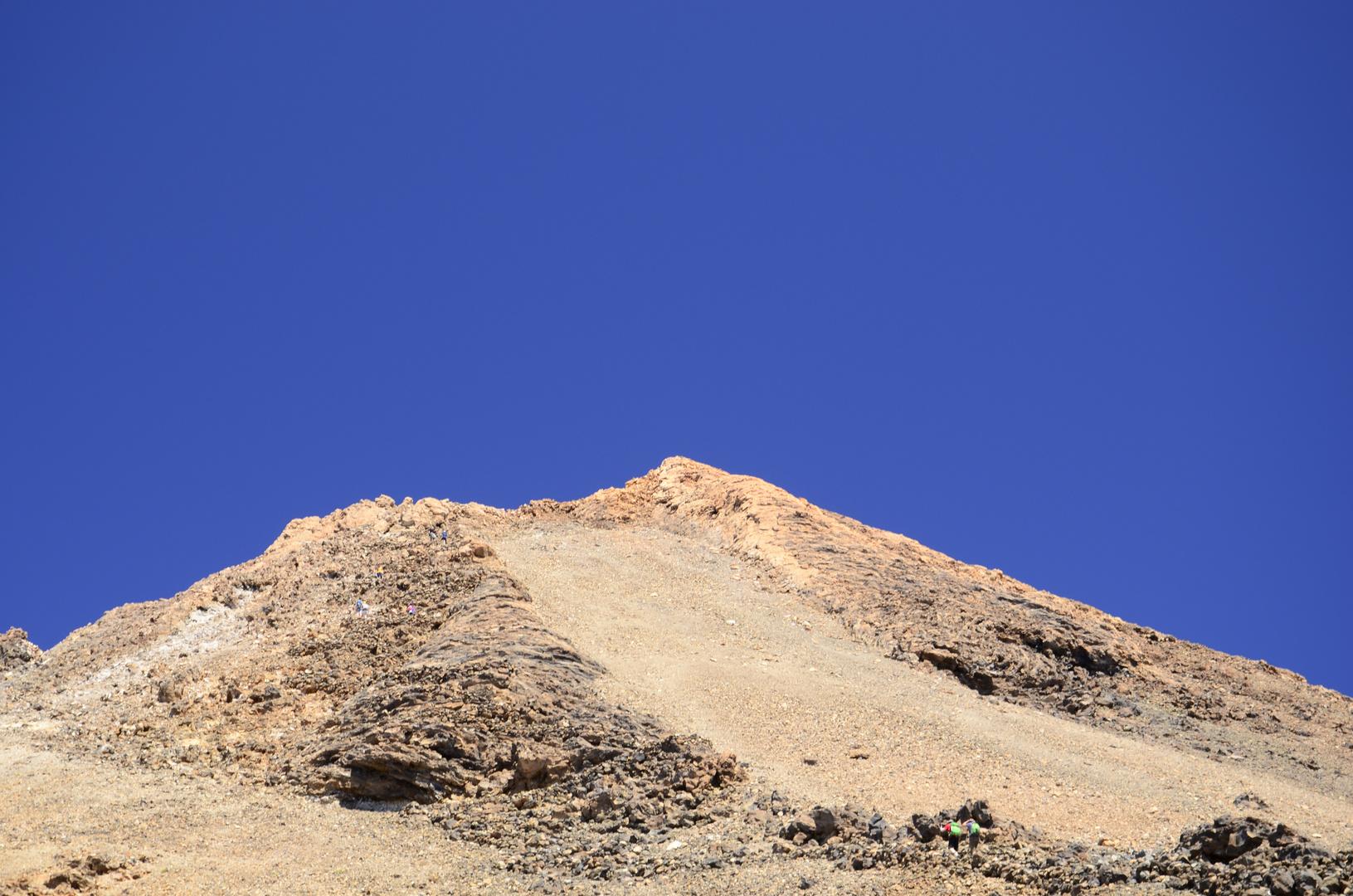 El Teide - schnellerkaltete Lava