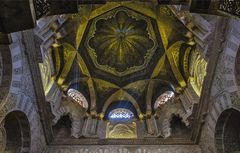 El tejado de la mezquita de cordoba