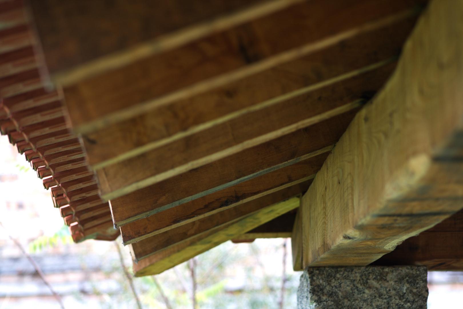 el tejado del lavadero