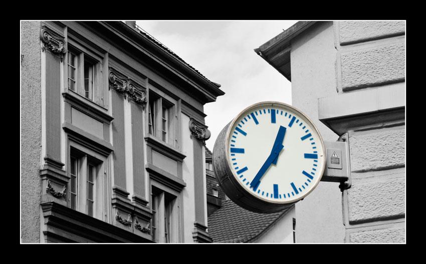 El tiempo en la esquina