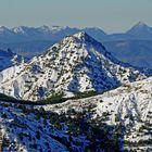 El Trevenque desde el Dornajo - Sierra Nevada