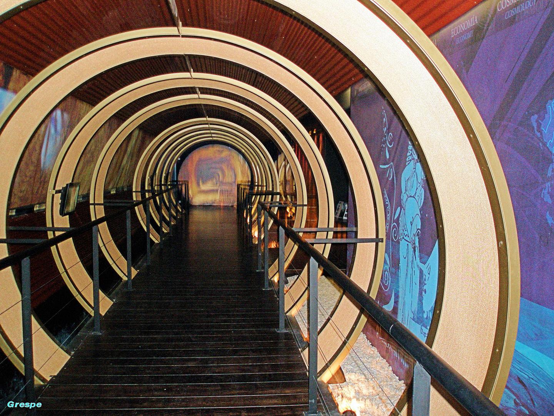 ¡El tunel!