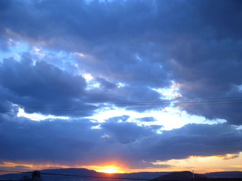 El ultimo rayo de sol