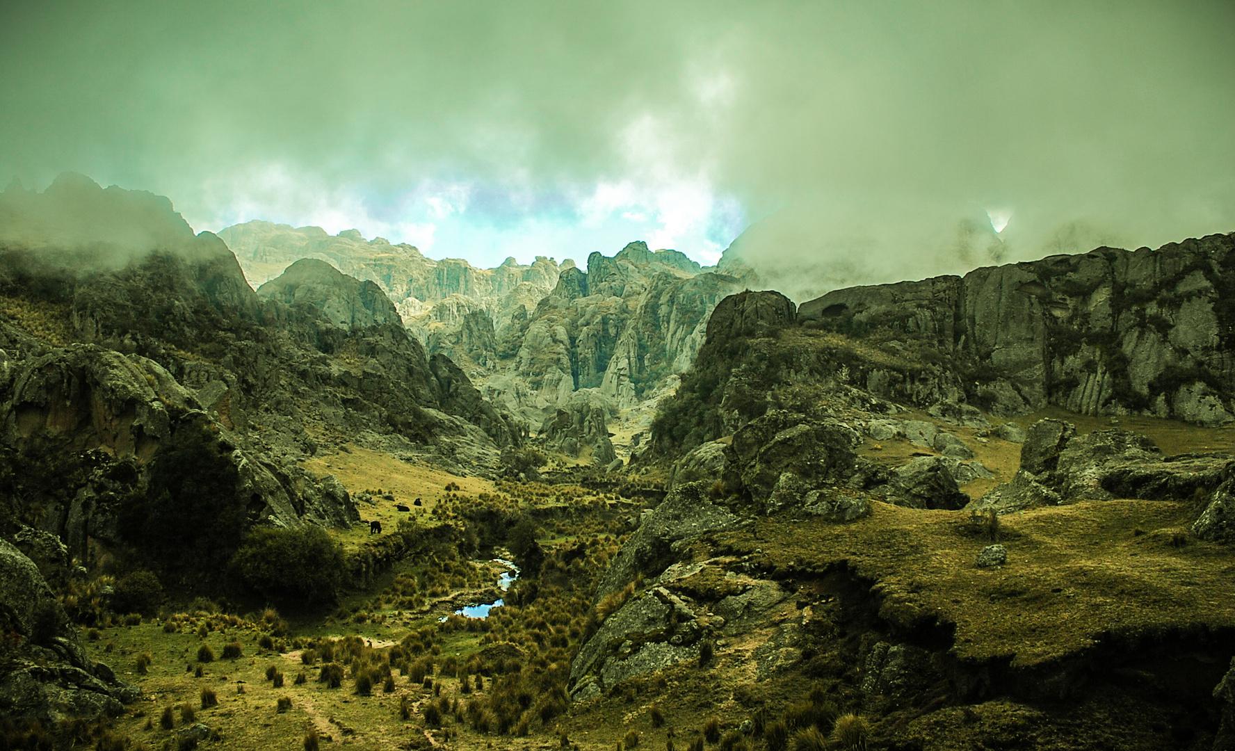 El Valle de Los Lisos - Los Gigantes - Córdoba