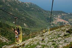 Elba Seilbahn auf den Monte Capanne