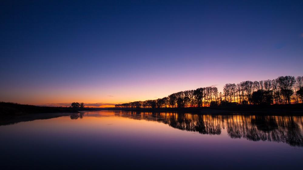 Elbe am Abend 2