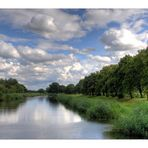 Elbe-Elster-Impressionen: Die Schwarze Elster bei Uebigau