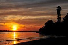 Elbe Sonnenuntergang