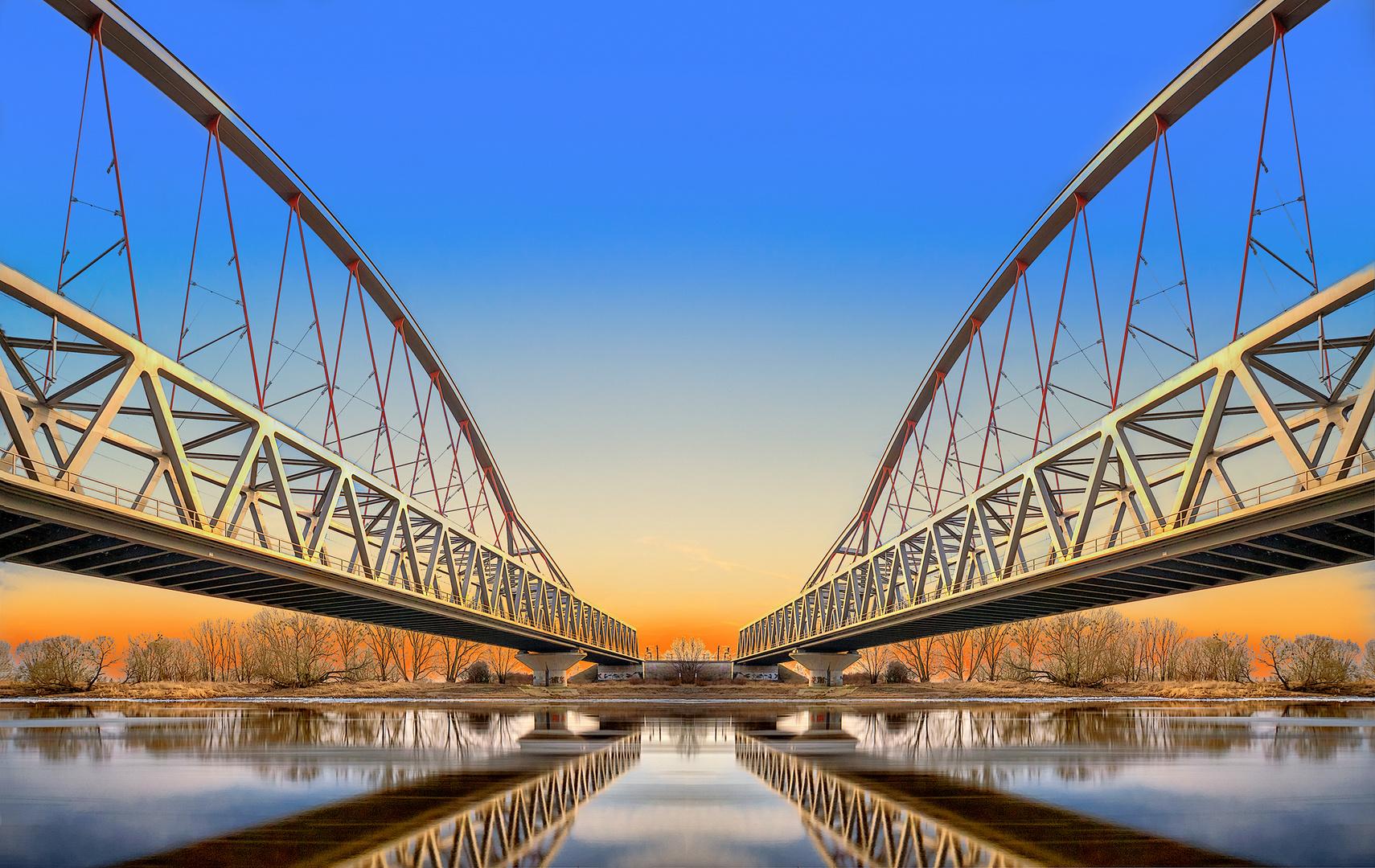 - Elbebrücke -