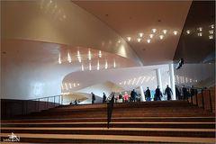 Elbphilharmonie - Arrivée à la Plaza
