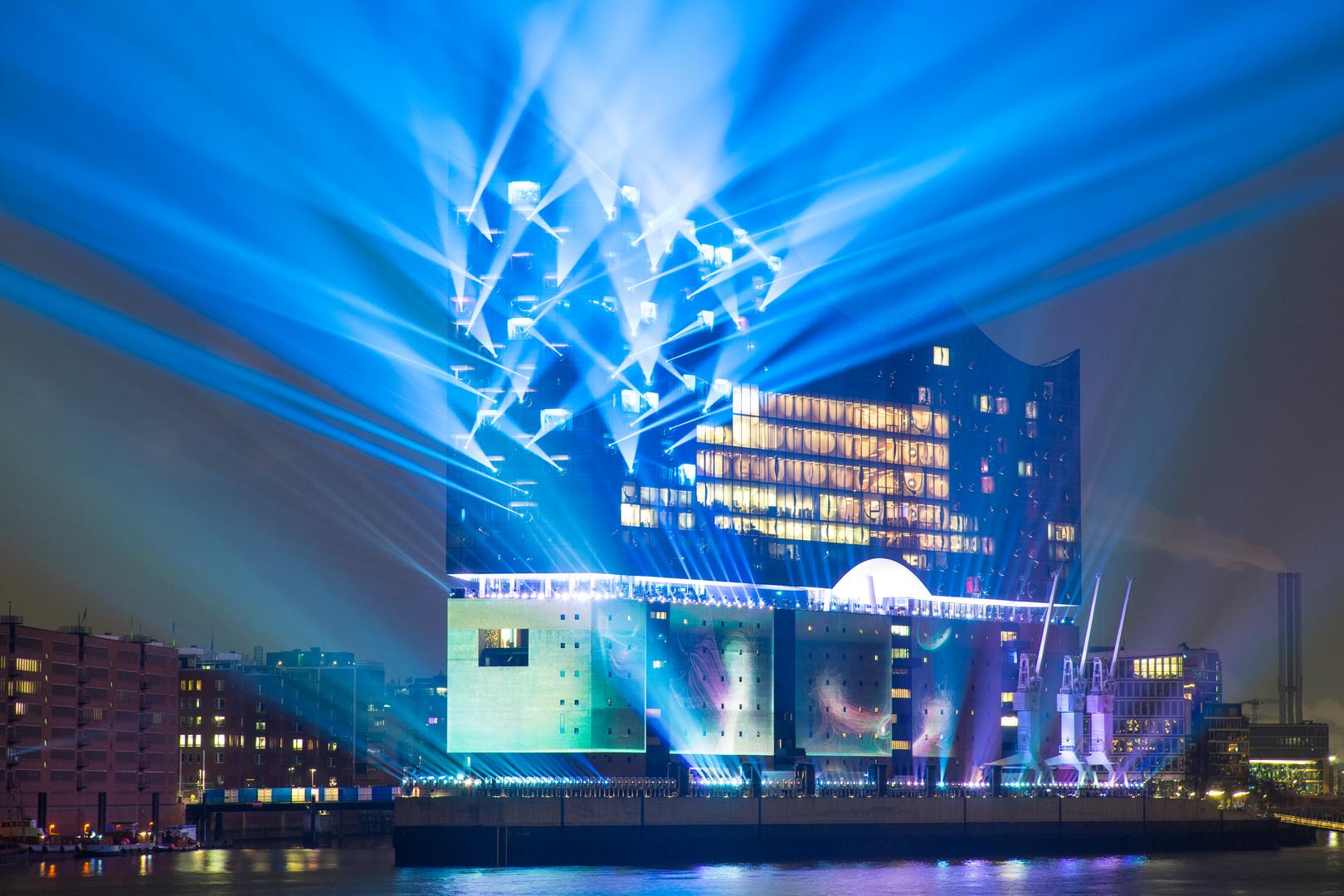 Elbphilharmonie - blau