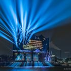 Elbphilharmonie in blue