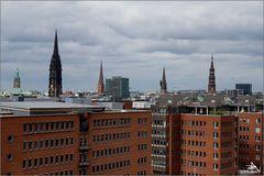 Elbphilharmonie - Vue sur la ville