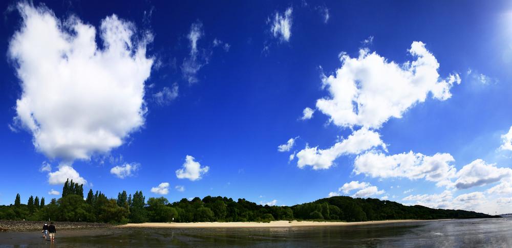 Elbstrand Panorama