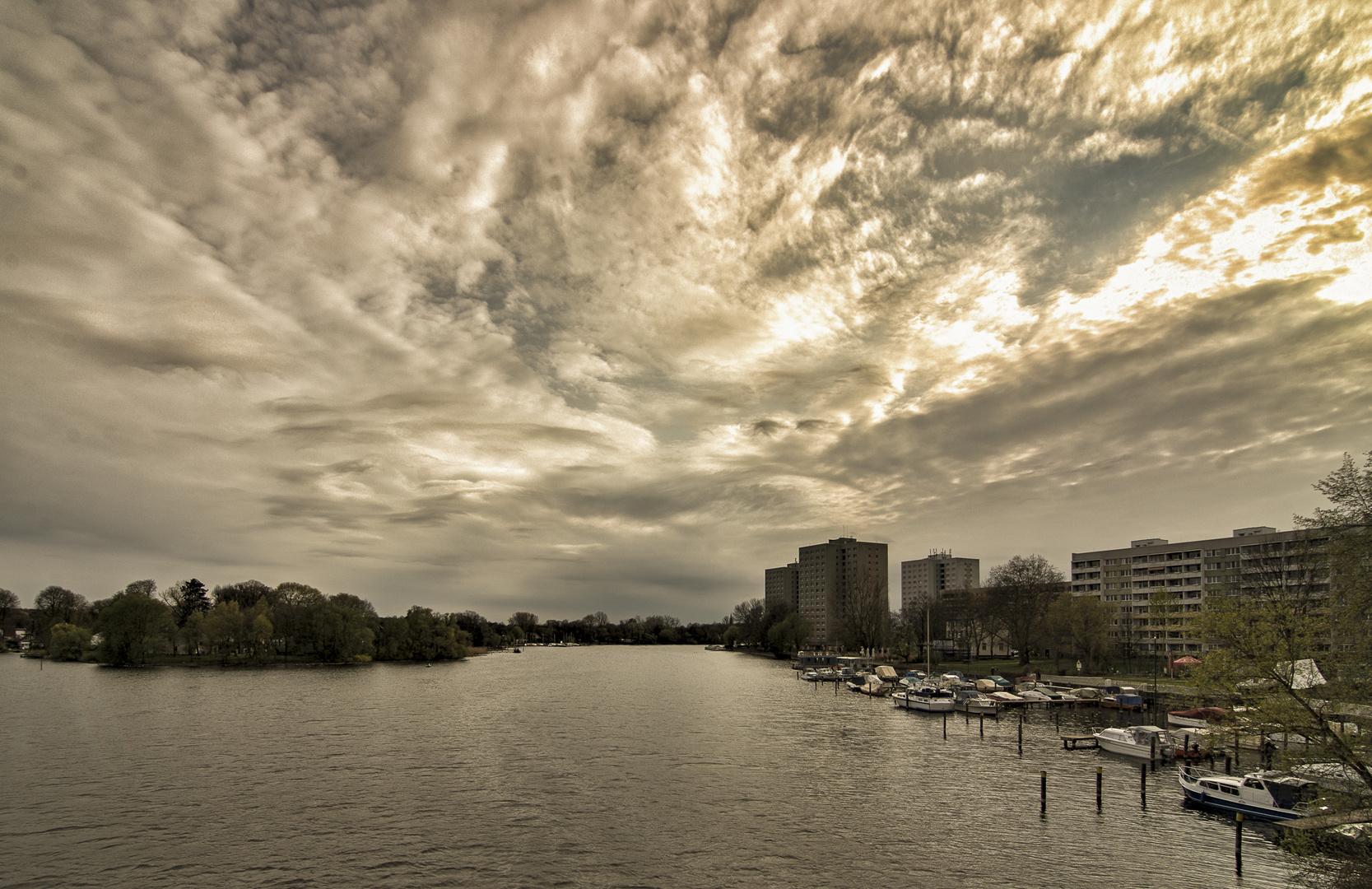 electric sky...