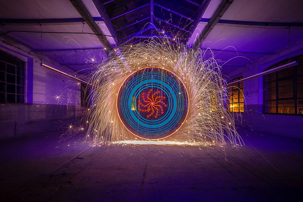 Electrical Movements in the Dark #183 - Ornamental Wheel (1)