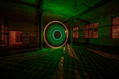 Electrical Movements in the Dark #201 - Green Circle