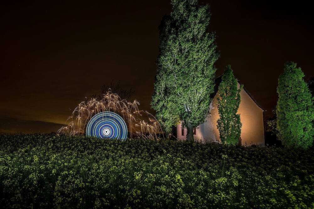 Electrical Movements in the Dark # 249 - Im Rapsfeld bei der Wallfahrtskapelle