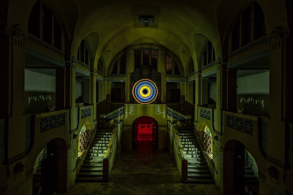 Electrical Movements in the Dark #250 - Entrance Hall at Midnight