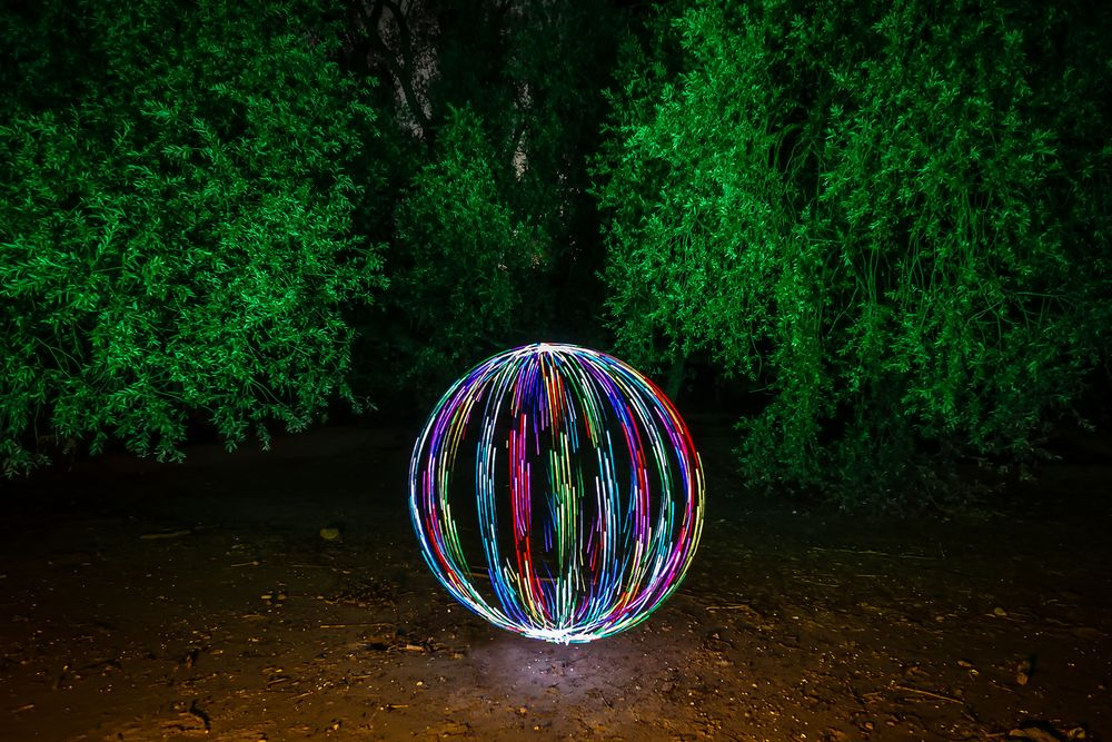 Electrical Movements in the Dark #266 - Multicolor Orb