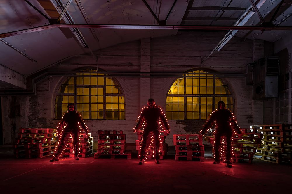Electrical Movements in the Dark # 274  - Red Lightmen