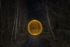 Electrical Movements in the Dark #294 - Golden Orb in the Forest