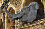 Elefantenkopf im Tower