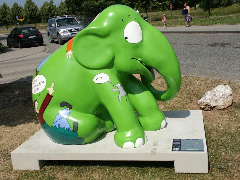 Elefantenparade Trier und Luxemburg
