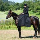 elegance in side saddle