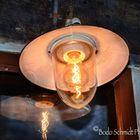 Elektrisches Licht mit Glühbirne ...damals eine Errungenschaft ...