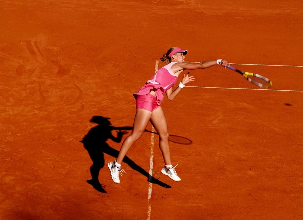 Elena Dementieva bei den German Open 2008