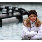 Elena neulich am See