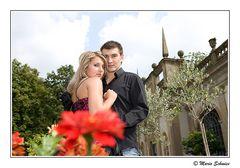 Elena und Anton im Schloß zu Weikersheim
