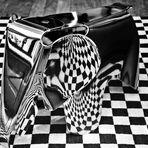 Elephant Checkers   --   Vitra   ©D7679--XOC+_BW-6b2°