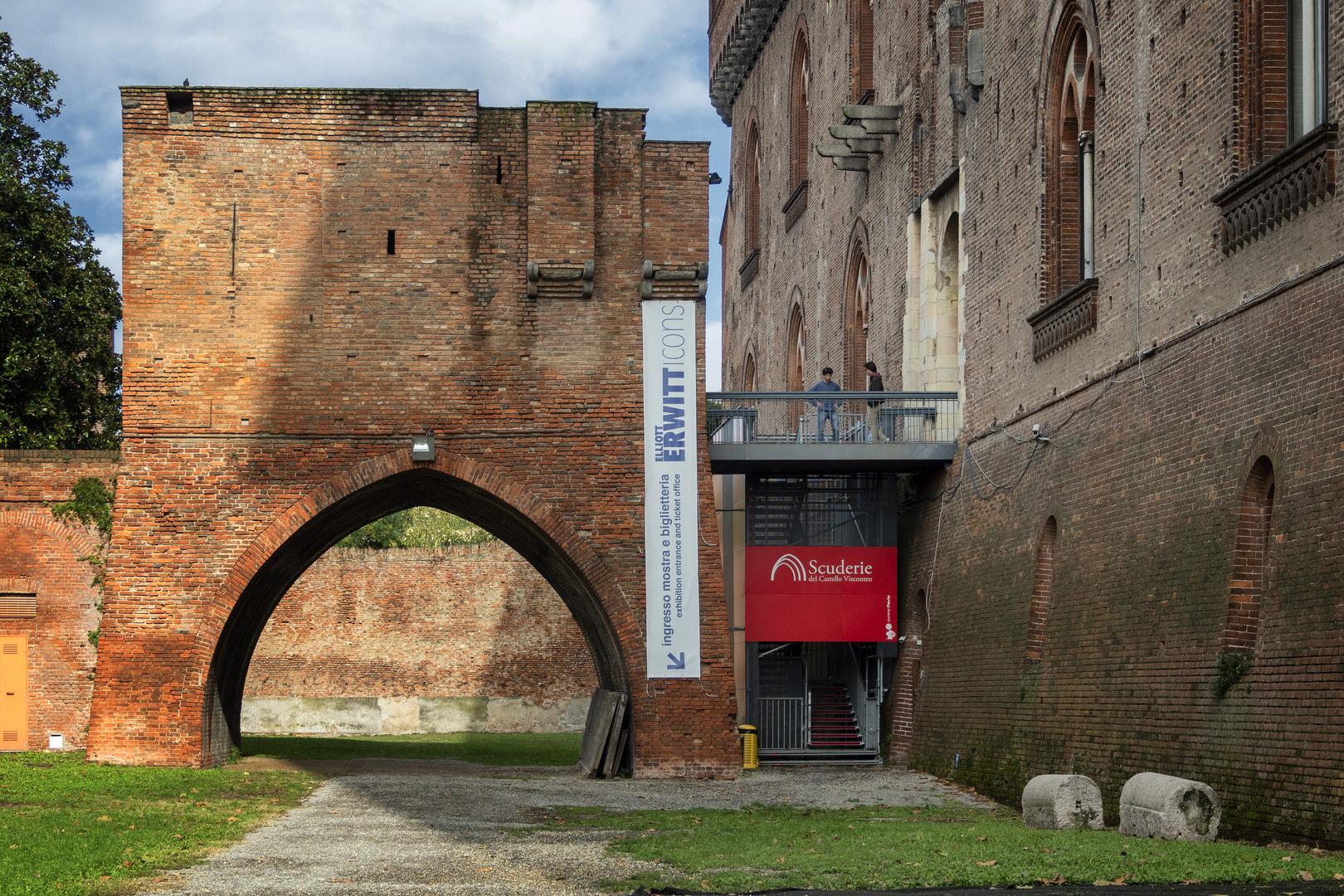 Eliott Erwitt icons, Castello Visconteo di Pavia