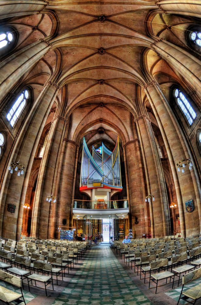 Elisabethkirche - Marburg .