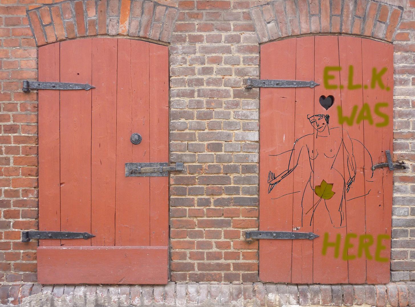 E.L.K. WAS HERE