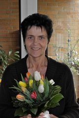 Elke sagt Danke für die Blumengrüße