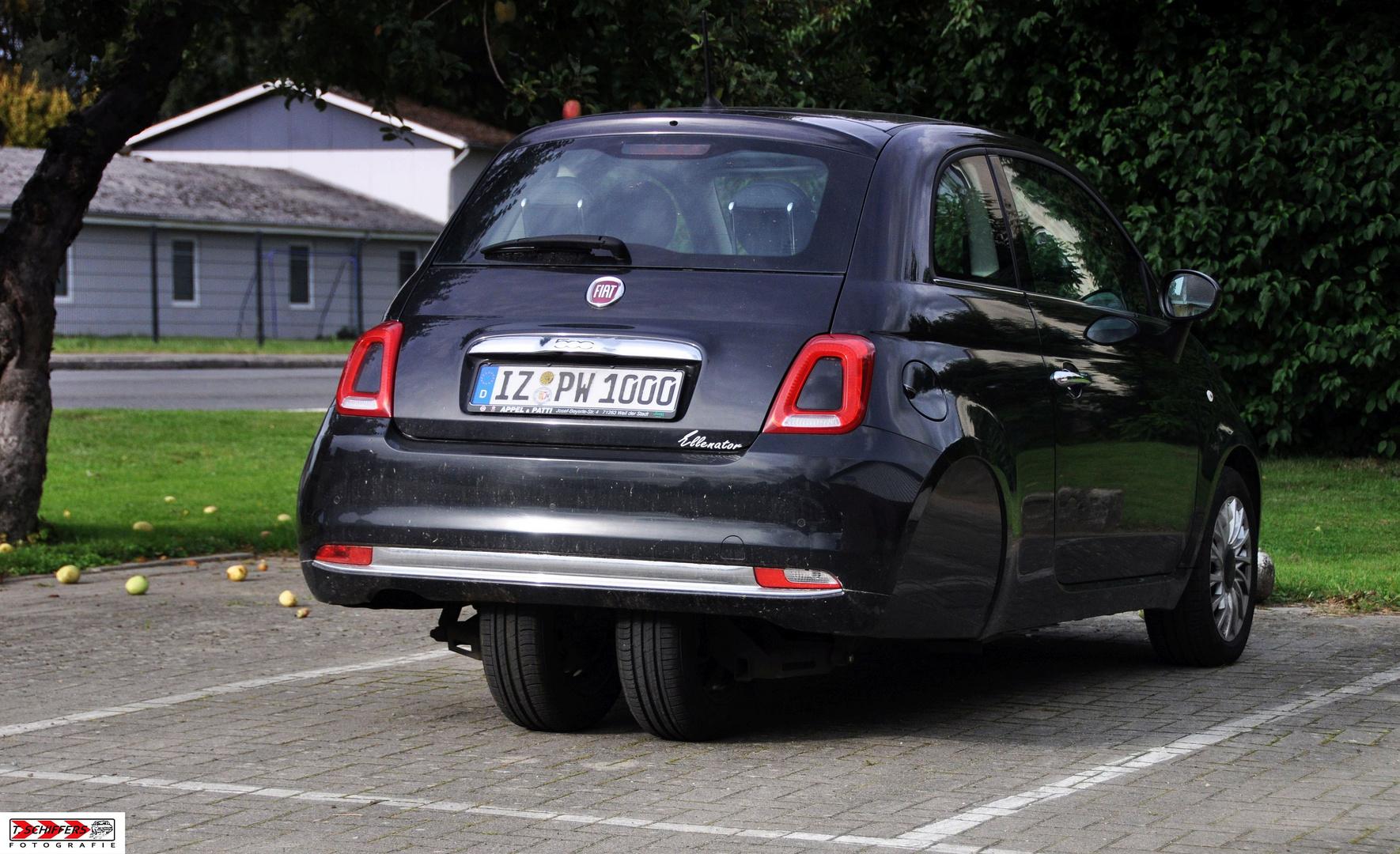 Ellenator Dreirad - Fiat 500