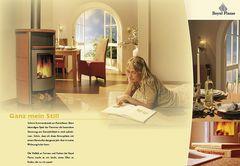 Elli macht Werbung für Ofen .........