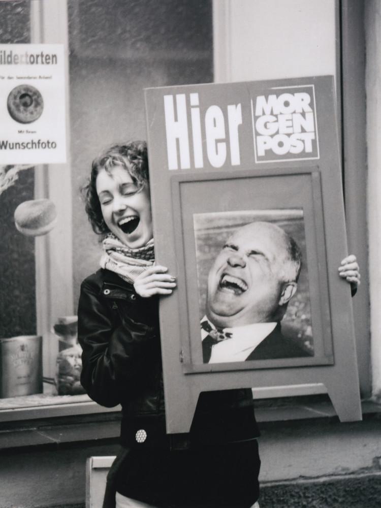 Elli und Helmut in heiterer Stimmung
