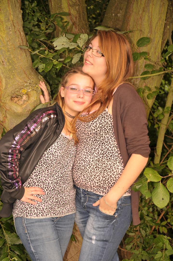 Elodie et Anaelle