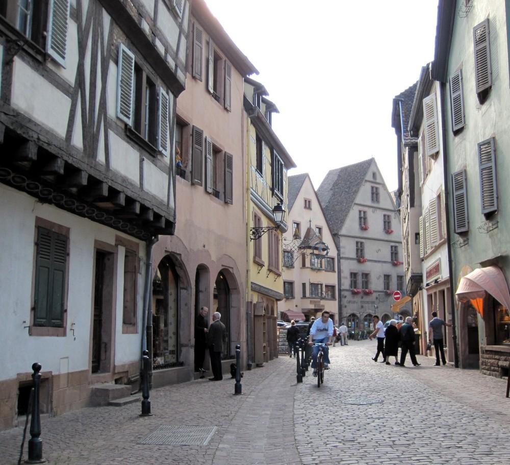 Elsass - Strassenlage