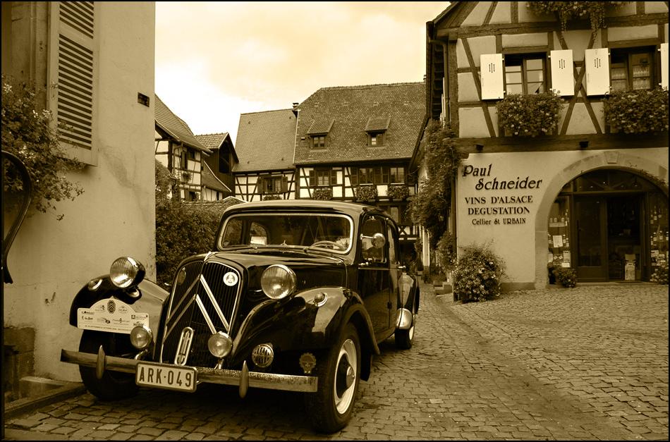 Elsaß - Wein - Citroen