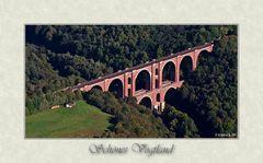 Elstertalbrücke aus...