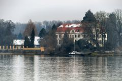 Eltville - Herrenhaus auf der Königsklinger Aue - 20. Januar 2016