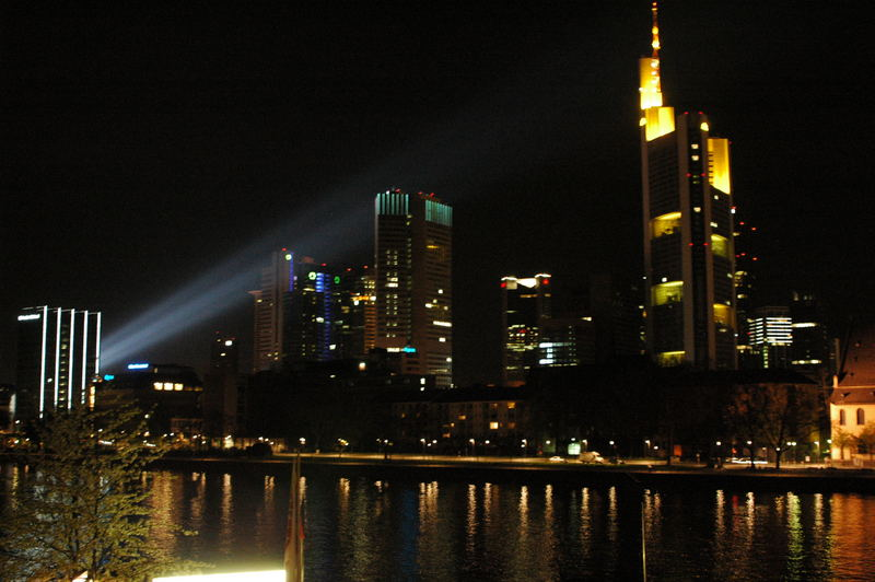 Elumination night in Frankfurt April 2006