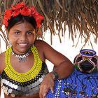 Embera-Indianerin