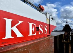 Emden,Seeschleuse
